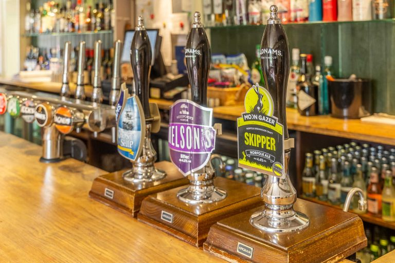 The Barney has a vast range of real ales, local gins and classic drinks