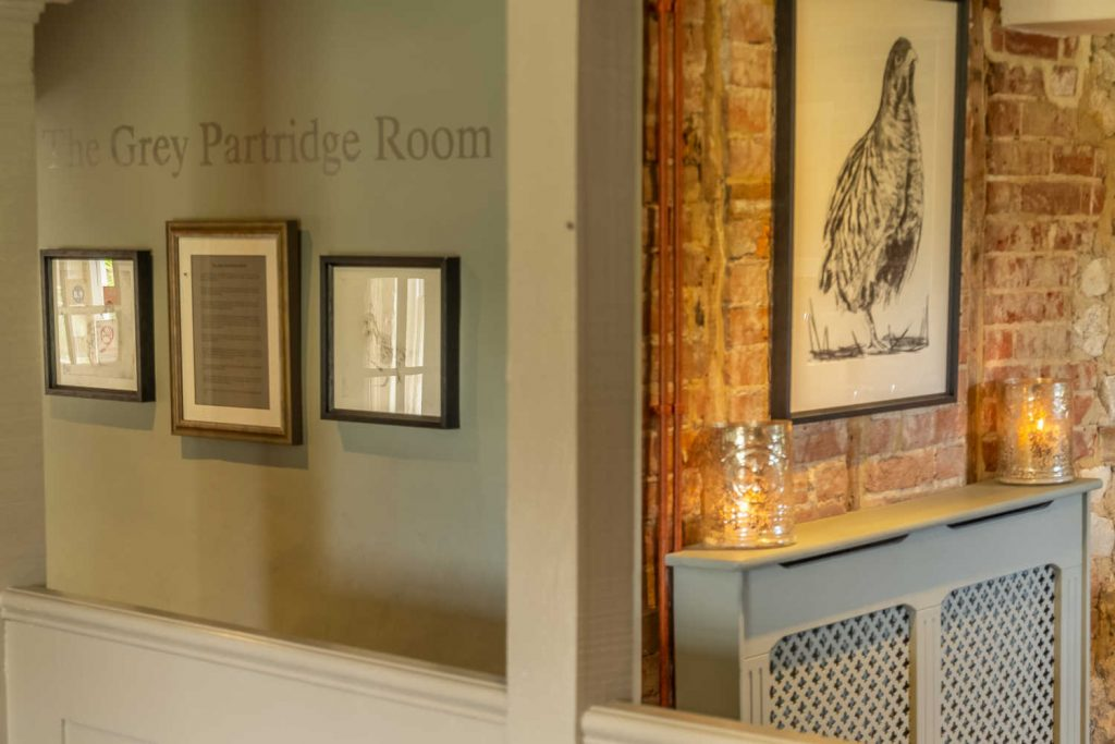 The Grey Partridge Dining Room Decor